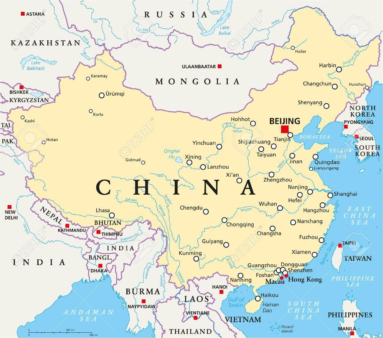 kina mapa Grad Kine mapu   Kina je mapa kapitala (Istočna Azija   Aziji) kina mapa